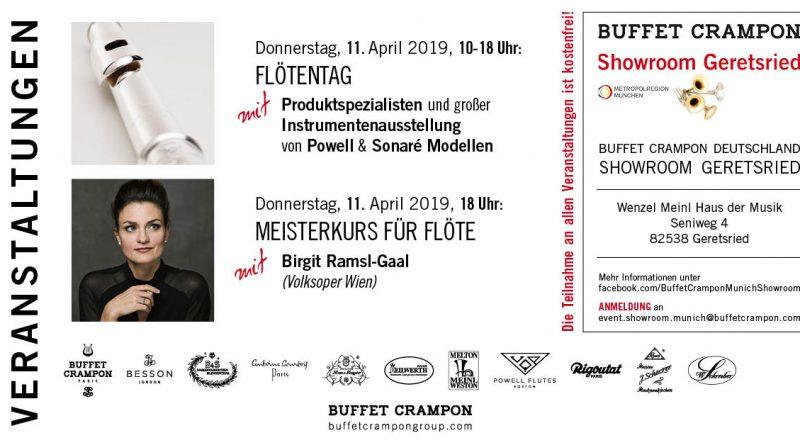 Buffet Crampon Flötentag