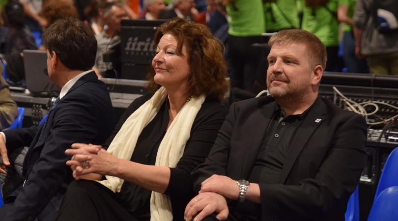 Isabelle Ruf-Weber und Geir Ulseth