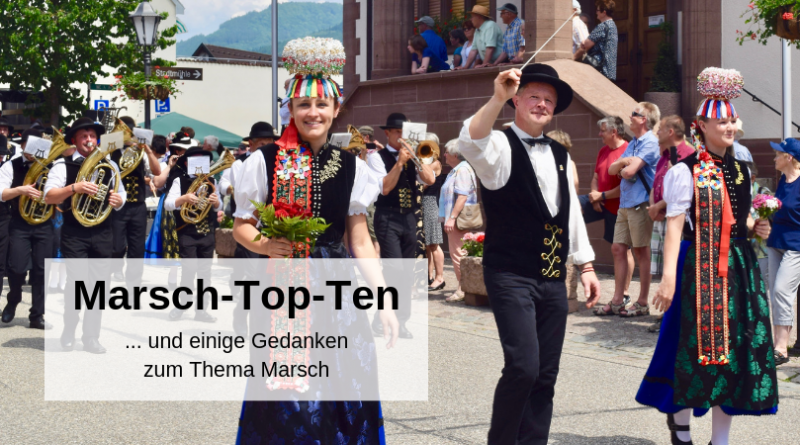 Marsch-Top-Ten