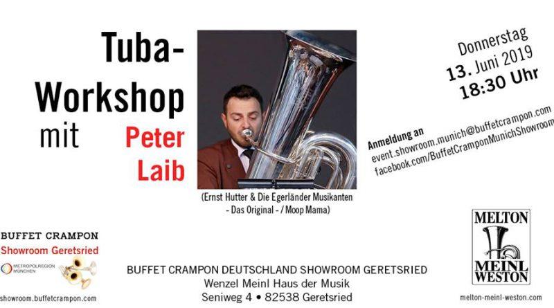 Tuba-Workshop mit Peter Laib