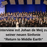 "Interview mit Johan De Meij zu seiner neuen Sinfonie ""Return to Middle Earth"""