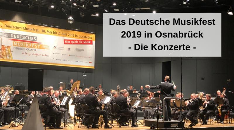 Die Konzerte Deutsches Musikfest