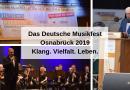 Das Deutsche Musikfest 2019 in Osnabrück: Klang. Vielfalt. Leben.