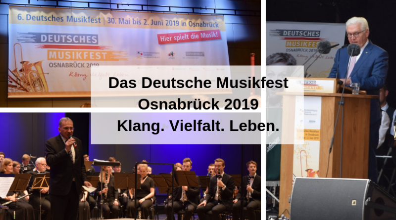 Das Deutsche Musikfest Osnabrück 2019 Klang. Vielfalt. Leben.