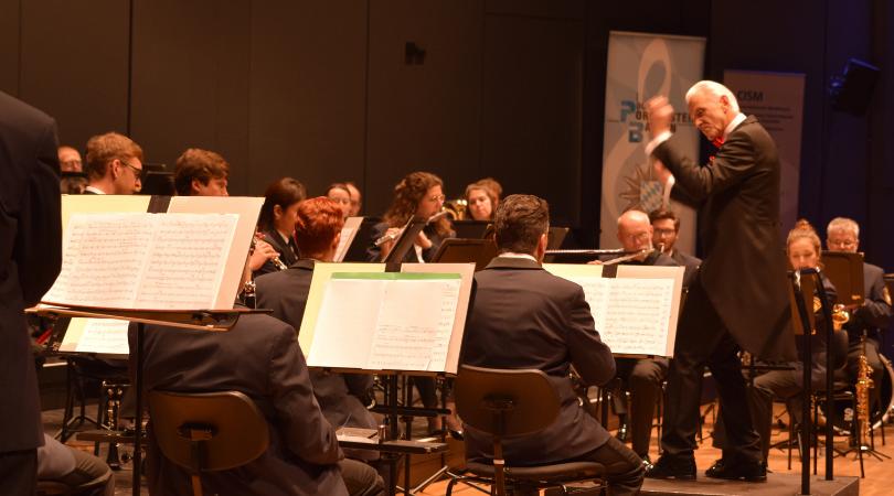 Polizeiorchester Bayern, Dirigent Johann Mösenbichler