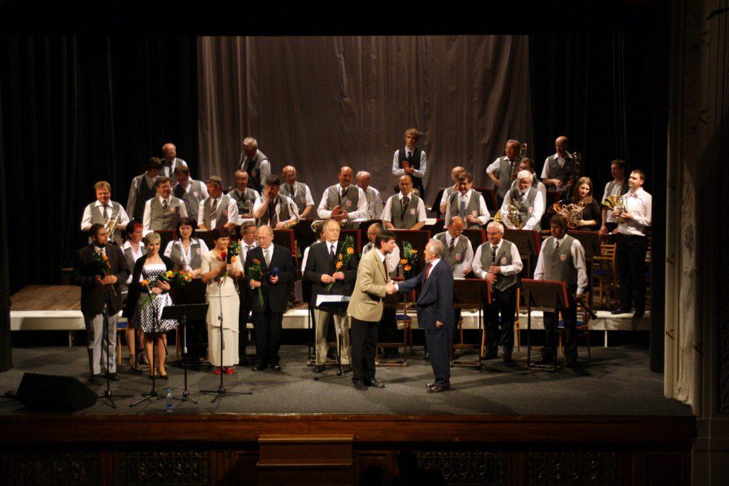 2010 Litomysl Gastdirigent Josef Jiskra