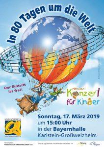 In 80 Tagen um die Welt Musikverein Großwelzheim