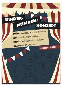 Flyer MK Haidgau Kinderkonzert