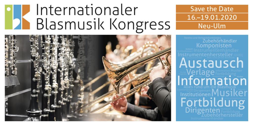 IBK Internationaler Blasmusik Kongress 16. - 19. Januar 2020