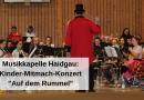 """Musikkapelle Haidgau: Kinder-Mitmach-Konzert """"Auf dem Rummel"""""""