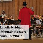 Musikkapelle Haidgau Kinder-Mitmach-Konzert Auf dem Rummel
