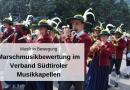 Musik in Bewegung – Marschmusikbewertung im Verband Südtiroler Musikkapellen