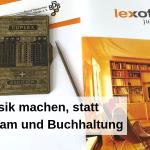 lexoffice Musik machen, statt Bürokram und Buchhaltung