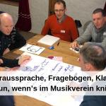 Orchesteraussprache, Fragebogen, Klausurtag