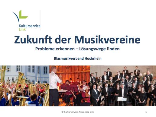 Zukunft der Musikvereine