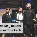 Johan de Meij bei der Stadtmusik Stockach