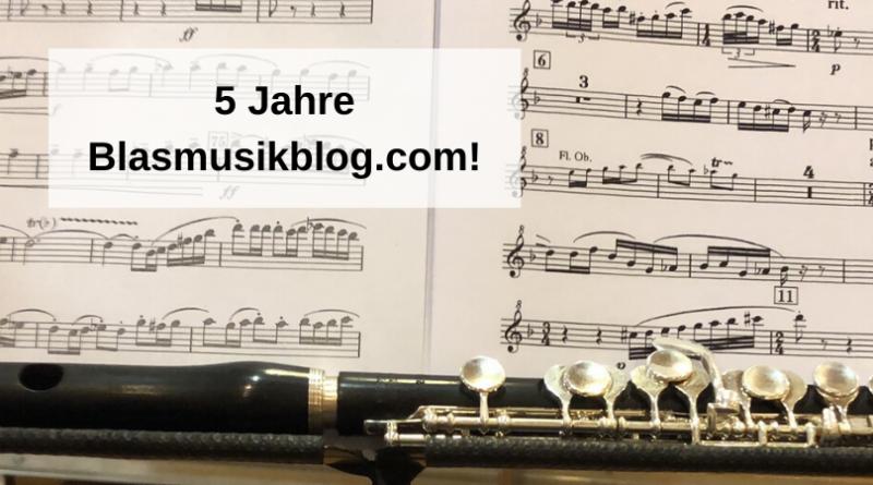 5 Jahre Blasmusikblog.com!