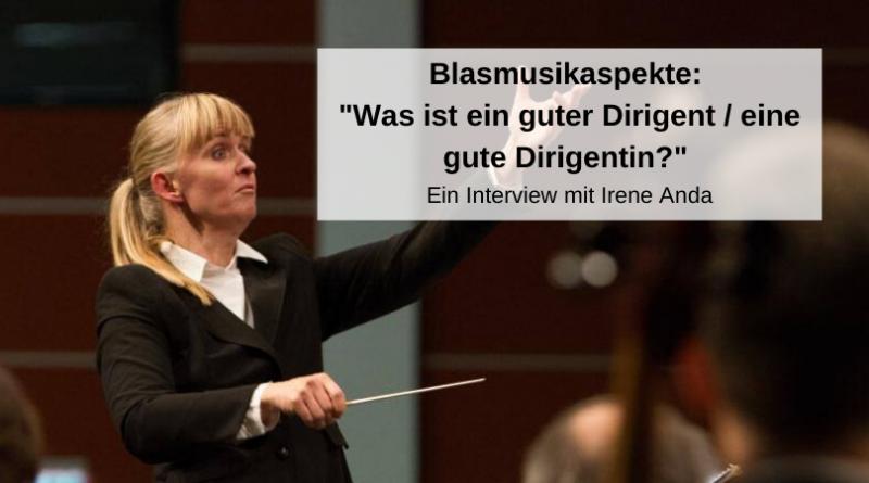 Blasmusikaspekte Guter Dirigent