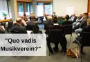 """Talkrunde """"Quo vadis Musikverein?"""" beim IBK 2020"""