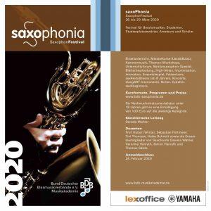 bdb saxophonia