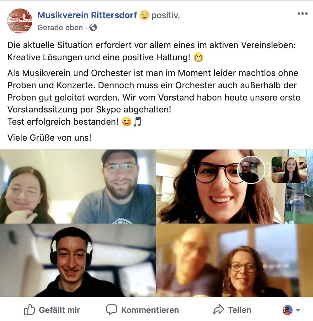 © Musikverein Rittersdorf
