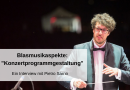 Blasmusikaspekte: Konzertprogrammgestaltung