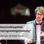Blasmusikaspekte Konzertprogrammgestaltung