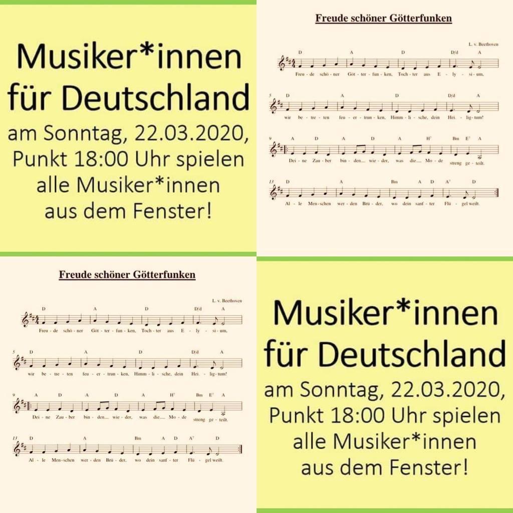 Musiker*innen für Deutschland