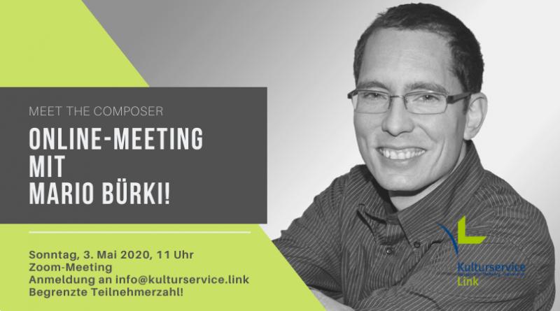 Online-Meeting mit Mario Bürki! Facebook