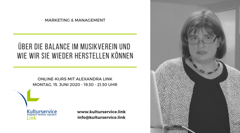 Marketing & Management Balance Termin Juni 2020 Facebook