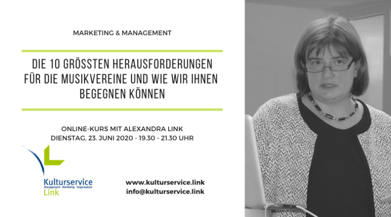 Marketing & Management Herausforderungen Termin Juni 2020 Facebook