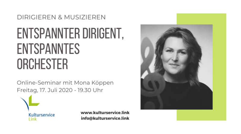 Mona Köppen Entspannter Dirigent