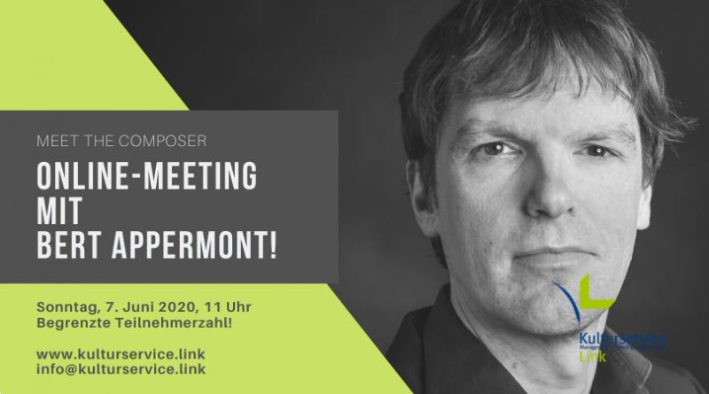 Online-Meeting mit Bert Appermont! Facebook(1)