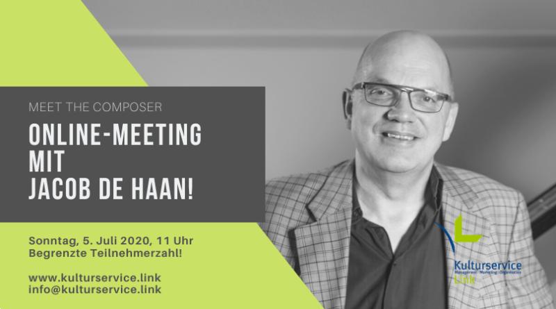 Online-Meeting mit Jacob de Haan! Facebook
