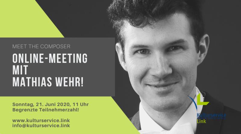 Online-Meeting mit Mathias Wehr! Facebook