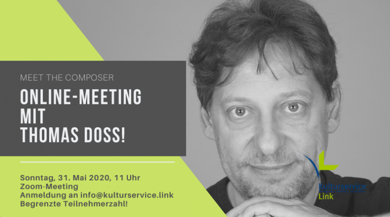 Online-Meeting mit Thomas Doss! Facebook