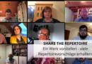 Share the Repertoire: Ein Werk vorstellen – viele Repertoirevorschläge erhalten