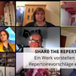 Share the Repertoire Ein Werk vorstellen - viele Repertoirevorschläge erhalten!