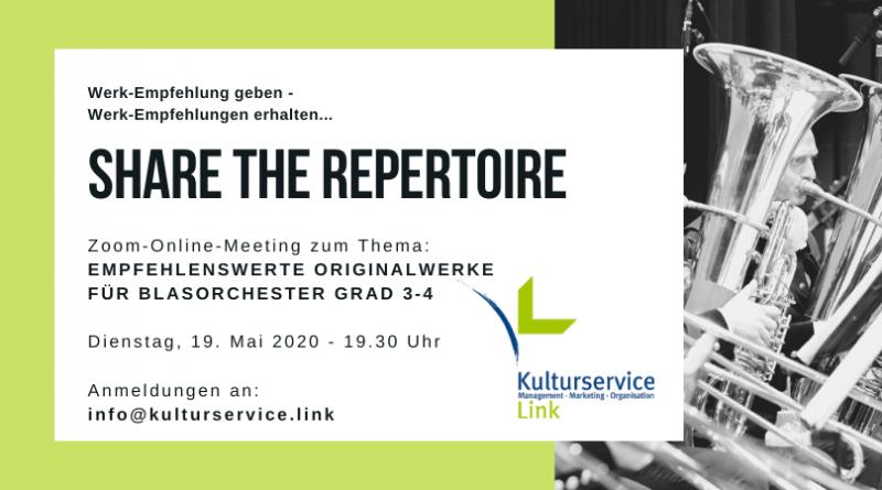 Share the Repertoire Original Grad 3-4 Facebook