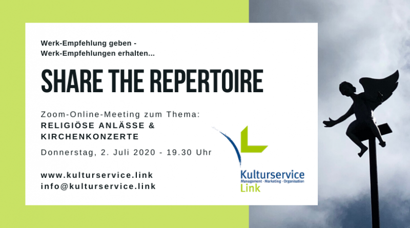 Share the Repertoire Religiöse Anlässe & Kirchenkonzerte Facebook(1)