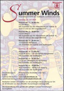 Summerwinds Plakat Kirchheim Teck
