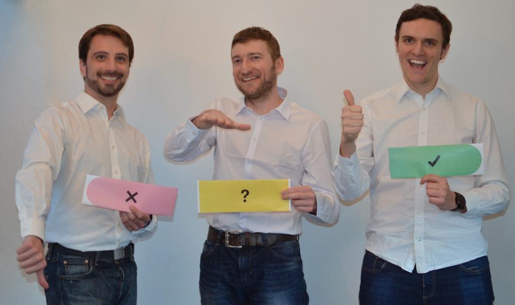 Chrisitan Ludl, Martin Rauter und Stefan Stift