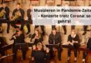 Musizieren in Pandemie-Zeiten – Konzerte trotz Corona: so geht's!