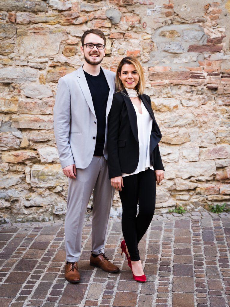 Andreas und Andrea Bachmann