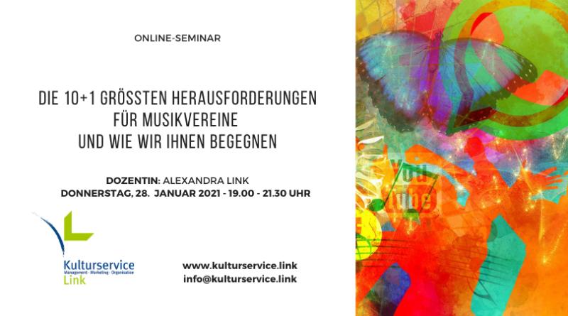 Online-Seminar Herausforderungen 28. Januar
