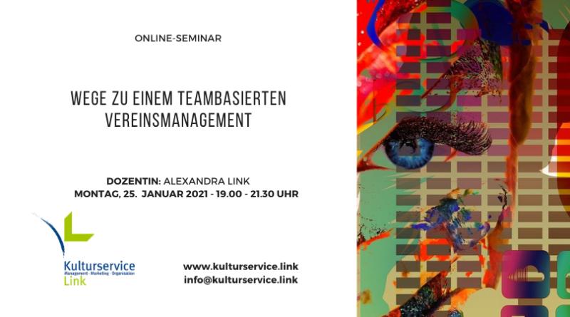 Online-Seminar Vereinsmanagement 25. Januar