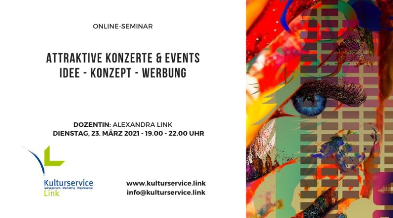 Online-Seminar Konzerte
