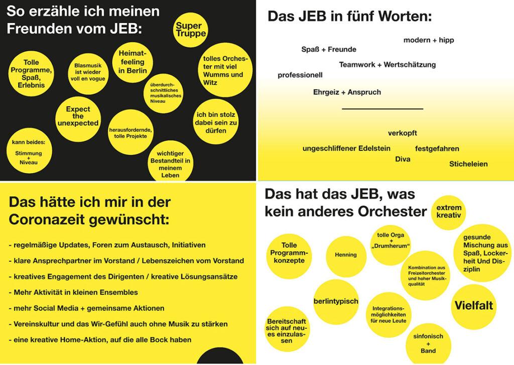 Fragebogen JEB Junges Ensemble Berlin