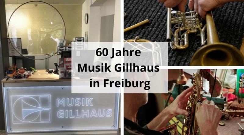 60 Jahre Musik Gillhaus in Freiburg