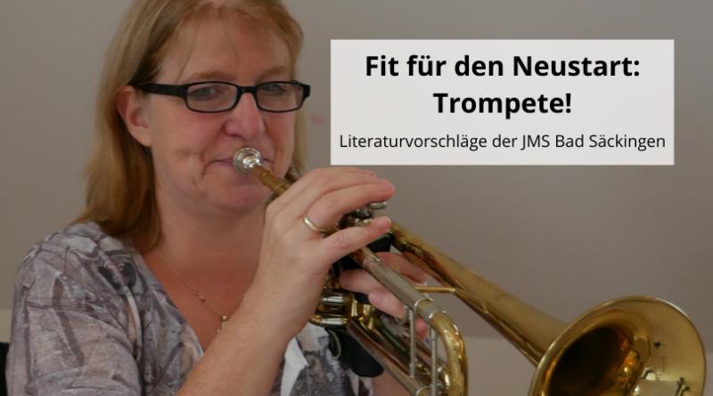 Fit für den Neustart Trompete!